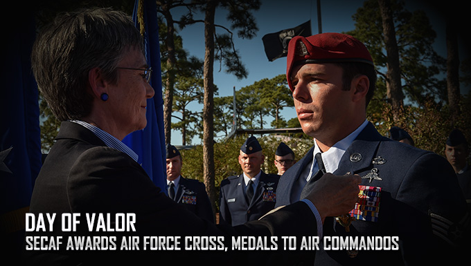 SecAF presents Air Force Cross, Medals to Air Commandos