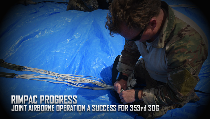 Joint Airborne Operation a success for 353rd SOG
