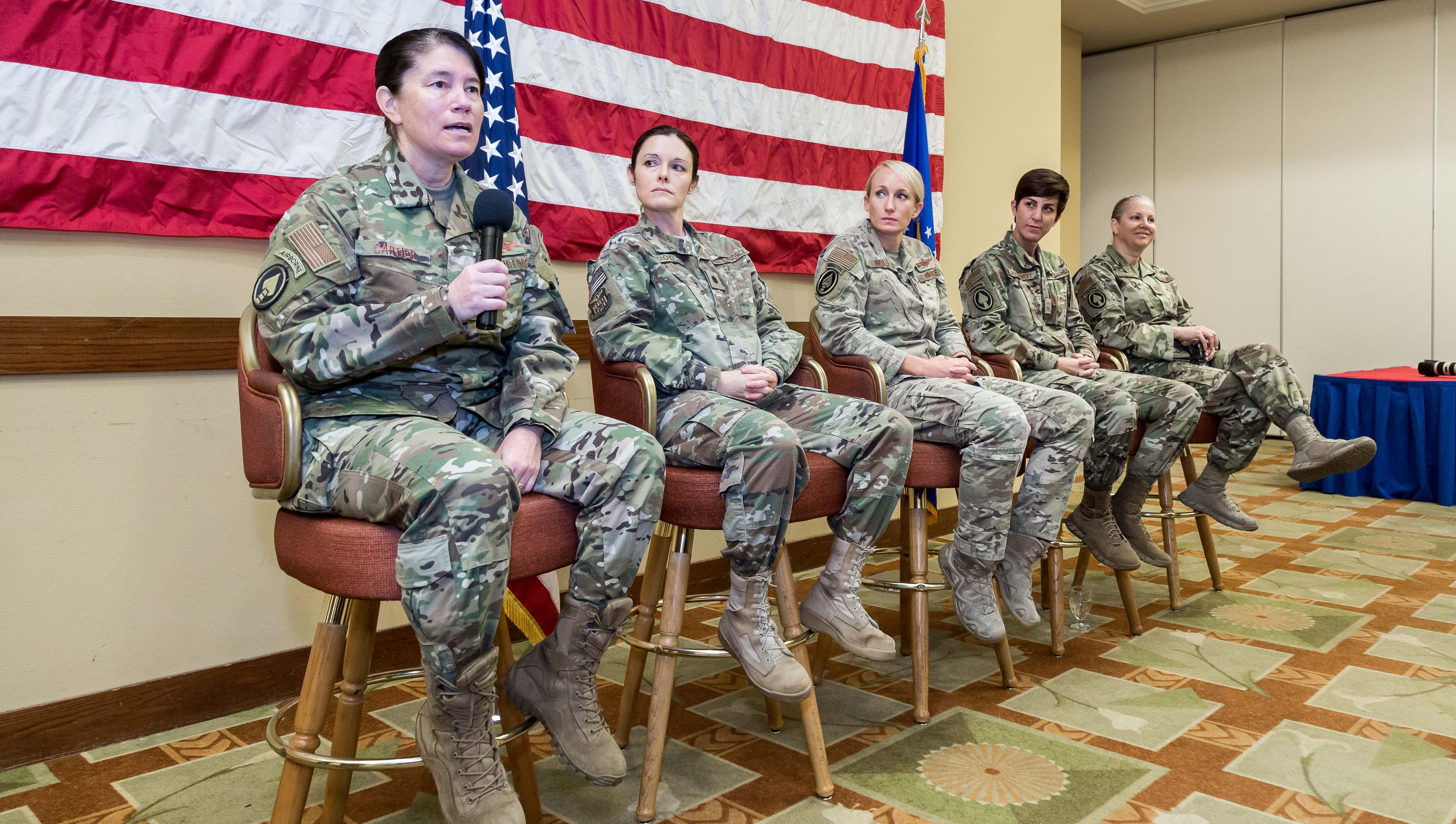 AFSOC leaders speak at women's panel